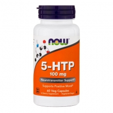 NOW Foods 5-HTP 100 mg 60 веганских капсул