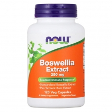 Экстракт босвеллии NOW Boswellia Extract 250 мг 120 капсул